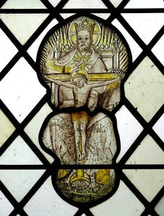 St Ethelbert's church  - medieval stained glass