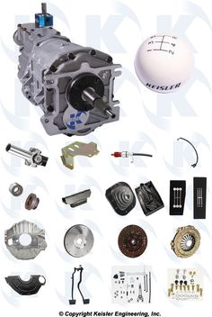 Kiesler TKO RS500 Corvette 5-Speed RS PerfectFit™ Kit - Auto  $2295