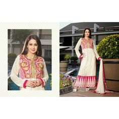 Designer Salwar kameez at lowest cost plus free shipping and stitching offer.