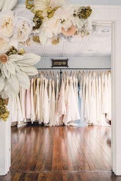 Designer and vintage bridal boutique in Atlanta, Georgia
