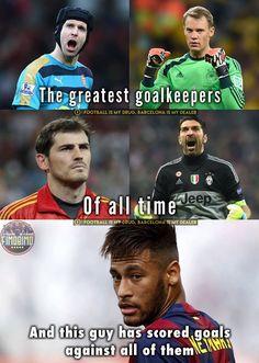 Love you neymar ❤️❤️❤️❤️❤️ Funny Football Memes, Soccer Memes, Football Quotes, Football Is Life, Soccer Quotes, Funny Soccer, Football Things, Football Stuff, Funny Sports