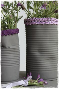 Lavendel in blik