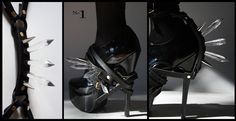 Stunning shoe harness by indecorous taste