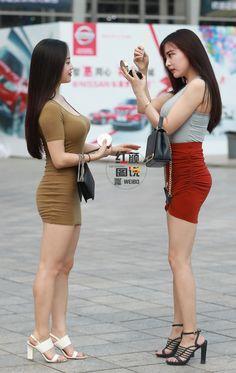 微博 Sexy Outfits, Cute Fall Outfits, Asian Cute, Cute Asian Girls, Myanmar Women, Girls In Mini Skirts, Mode Chic, Stylish Girl Pic, Beautiful Asian Women