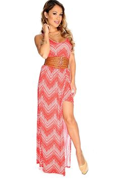 a6452bc153 Be daring in this one of a kind maxi dress featuring a scoop neckline