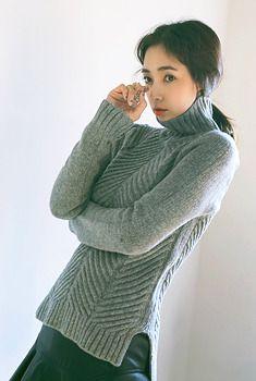 Aura-J 헤이즐넛-knit