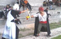 Gintama X One Piece Crossover - Sani(Ramen) Shanks Cosplay Photo