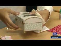 Programa Artesanato sem Segredo (14/09/15) - Porta alianças craquelê