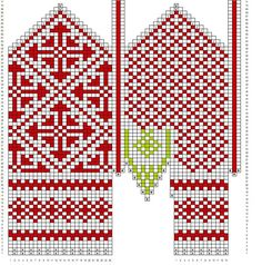Ravelry: Variation on a mitten from Oppland pattern by Mijauw Knitted Mittens Pattern, Knit Mittens, Knitting Socks, Hand Knitting, Knitting Charts, Knitting Stitches, Knitting Patterns, Cross Stitch Kits, Cross Stitch Patterns