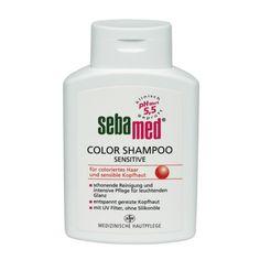 coloriertes Haar & sensible Kopfhaut, schonende Reinigung & intensive Pflege für leuchtenden Glanz, entspannt gereizte Kopfhaut, mit UV- Filter, ohne Silikone, pH-Wert 5,5, medizinische Hautpflege