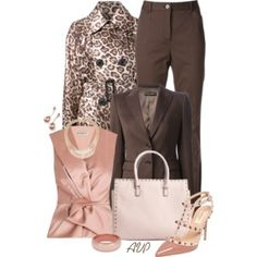 Pink and Brown