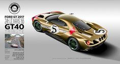 GT40 Claude Nahum collection - commissioned project on Behance