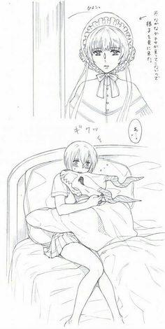 Elias e Chise Manga Anime, Anime Art, Chise Hatori, Elias Ainsworth, Chihiro Y Haku, Anime Faces Expressions, Cute Couple Comics, The Ancient Magus Bride, Fan Art