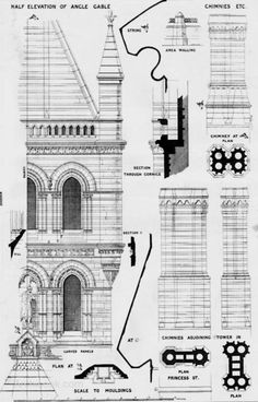 1876 – Manchester Town Hall, Lancashire  Architect: Alfred Waterhouse