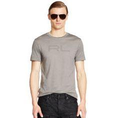 Logo Pima Cotton T-Shirt - Black Label Tees - RalphLauren.com