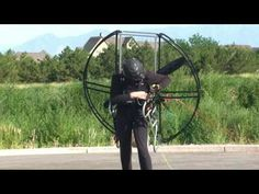 World's Easiest Powered Paragliding / Paramotor / Paraglider/ Paramotoring Equipment!! Flat Top!!! - YouTube