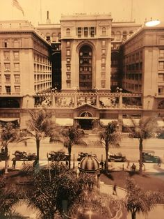 The historic US Grant Hotel in San Diego