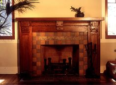 Craftsman Style Fireplace Mantels | In Search Of A Craftsman Arts & Crafts Fireplace Mantel at Building ...