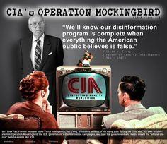 Media propaganda from your friends at Operation Mockingbird