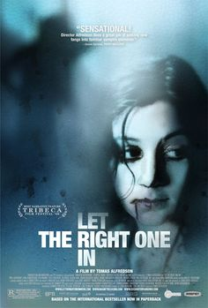 Let the Right One In Poster. By Tomas Alfredson