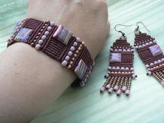 VK is the largest European social network with more than 100 million active users. Macrame Bag, Macrame Earrings, Macrame Jewelry, Macrame Bracelets, Fringe Earrings, Paracord, Micro Macramé, Macrame Tutorial, Jewelry Crafts