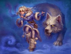 """Full Square Diamond DIY Diamond Painting""""Man and wolf""""Diamond Embroidery Cross Stitch Rhinestone Mosaic Painting Decor Gift Fantasy Kunst, Fantasy Art, Character Inspiration, Character Design, Howl At The Moon, She Wolf, Fantasy Women, Winter Is Coming, Animation Film"""