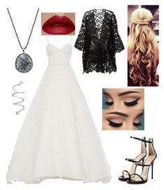"""""""Untitled #1078"""" by floridaflower11 ❤ liked on Polyvore featuring Elizabeth Kennedy, Chloé, Giuseppe Zanotti and South Moon Under"""