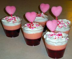 We Made That: Valentines Day Pudding