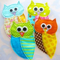 Owlies by Laurie Star, via Flickr