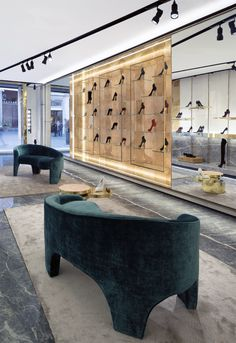 Casadei Flagship in Rome Italy by Marco Costanzi