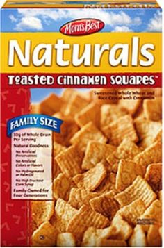 Mom's Best Cereal - Toasted Cinnamon, 17.5000-Ounce (Pack of 7) by Mom's Best Naturals -- Awesome products selected by Anna Churchill