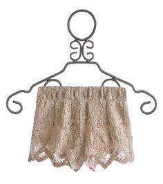 Vintage Havana Ivory Crochet Tween Shorts $32.00