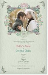 acuñadas unión boda 2013 Invitaciones y comunicados 10x9.99€