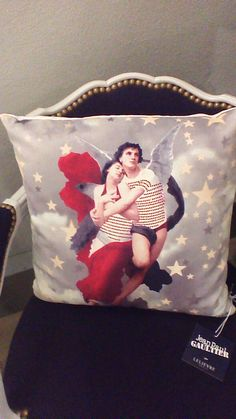 Coussin Couple rouge