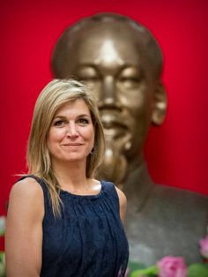 Queen Maxima of the Netherlands visits President Tran Dai Quang of Vietnam on May 31 2017 in Hanoi Vietnam Queen Maxima is in Vietnam for an three...
