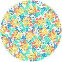 cute pattern for shorts - Robert Kaufman, London Calling 5, COTTON LAWN, Hidden Garden Park