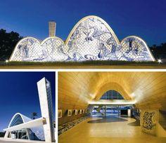 Niemeyer - Igreja São Francisco de Assis da Pampulha, Belo Horizonte