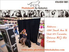 We are the best provider of photobooth rental, Toronto event planners can confirm, because we offer the best technology – space – accessories - price combinations. Our services are neither exclusivist nor mediocre, they are designed to meet all tastes and preferences. For more details visit our website @ http://www.photoboothbybabylon.com/