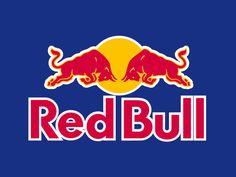 La force animale employée dans les marques. Red bull logo