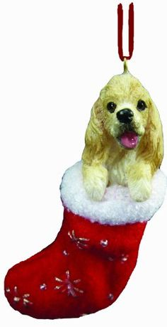 Cocker Spaniel Weihnachtsbaum Schmuck Santa's Little Pals http://www.amazon.de/dp/B003VD3ZW8/ref=cm_sw_r_pi_dp_xRUOub1WNJK5W