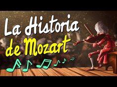 LA HISTORIA DE MOZART (BIOGRAFÍA) | CUENTOS PARA NIÑOS EN ESPAÑOL - YouTube Flipped Classroom, Music Classroom, Classroom Management Tips, Music For Kids, English Class, Teaching Music, Teaching Spanish, Music Education, Conte