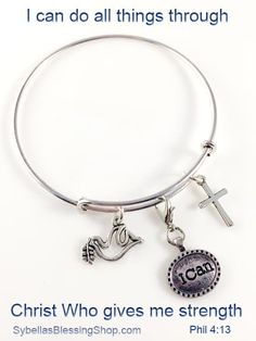 $22.50 USD Our Custom Alex & Ani Style Bracelets are a stylish, creative and fun way to express your faith and personality. You can choose from the scripture inspired designs we made or make your own! https://www.sybellasblessingshop.com/product/scripure-inspired-bangle-bracelet/
