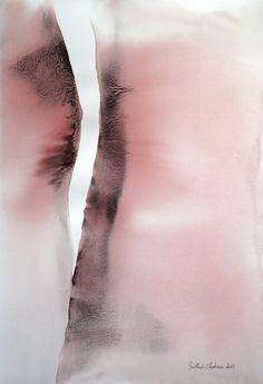 Painting 38 x56 cm from Muriel Buthier-Chartrain / 2015 Watercolor