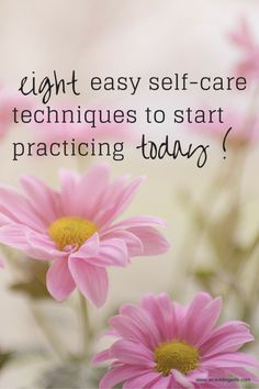 Eight Easy Self-Care Practices for April Stress Awareness Month