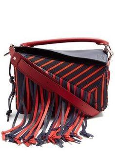 c26d3ab6ac8d Puzzle Fringes canvas bag | Loewe | MATCHESFASHION.COM #handbags #leather  Кожаная Сумка