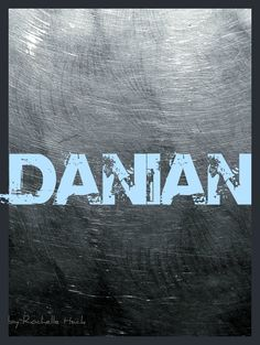 Baby Boy Name: Danian. Meaning: God is My Judge. http://www.pinterest.com/vintagedaydream/baby-names/