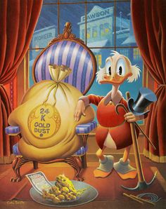 Uncle Scrooge - Til Death Do Us Part by Carl Barks