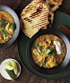 Let your slow cooker do the work in this fragrant dish seasoned with ginger, curry powder, and garlic. Get the recipe for Curried Lentils With Chicken and Potatoes.