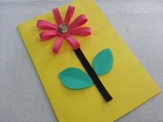 DIY Mother's Day Card for Kids to Make