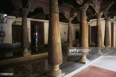 wood column india - Google Search